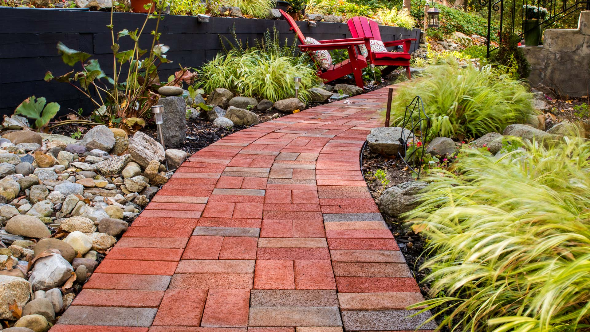 Brick walkway install and landscaping NJ